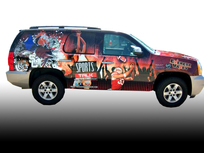 Custom SUV Wrap